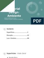 Material Design_ Ambiente
