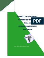 Ejemplo de Manual de procedimientos farmaceutico