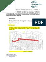 Informe de Diseño All Carrera 6  Barrio las Granjas