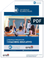 Programa Formativo en Coaching Educativo