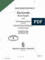 Bach Wtc 2 Book 1