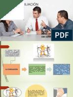 Diapositiva de Conciliación