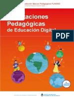 Orientaciones Pedagógicas de Educación Digital