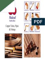 Maksal Copper Pipes Catalog