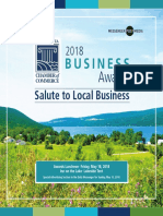 Chamber Business Awards 2018