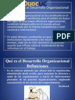 Introducción General Al Desarrollo Organizacional
