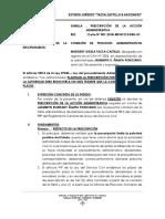Solicitud de Prescripcion de Procedimiento Administrativo Disciplinario