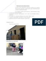 Proyecto de Ayuda Social