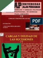 TEMA 32 CARGAS Y DEUDAS de LA SUCESION Milagros Tatiana Ataucuri Llerena