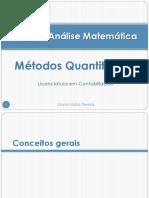 Cap1 Análise Matemática