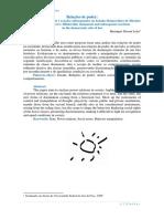 Relacoes de Poder Bilateralidade Imanente e Reacoes Subsequentes No Estado Democratico de Direitos