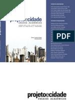 Projeto e Cidade Ensaios Acadêmicos