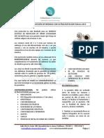 Protocolo Reducción Medidas Con Ultracavitador 2015