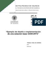 EJEMPLO de DISEÑO E Implementacion de Una Estacion Base GSM-UMTS