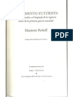 Marjorie Perloff - El Momento Futurista