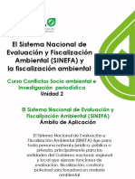 SINEFA y Fiscalizacion Ambiental