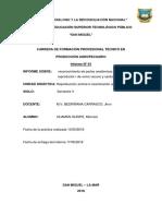 Informe Técnico de Reconocimiento de Aparato Reproductivo