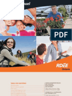 RDÉE Ontario - Rapport annuel 2003-2004