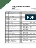 Pensum - Indice Academico.