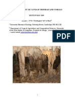 Bibliography Caves of Trinidad and Tobago