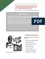 CAPITULO 6 Manufactura Polímeros