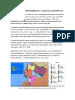 Cuencas hidrológicas del Ecuador