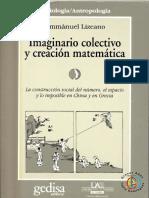 Lizcano, Emmanuel - Imaginario Colectivo