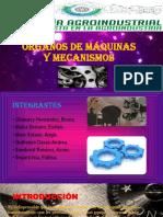 Órganos de Máquinas y Mecanismos Diapos