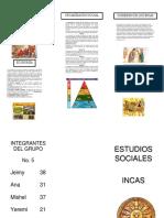 Trifoliar de Los Incas