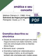 Gramática e Seu Conceito