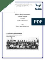 Historia de México Contemporáneo
