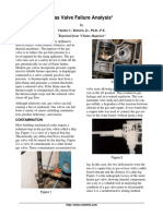 Gas Valve Failure Analysis