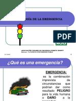 Psicología de La Emergencia Aquagestión