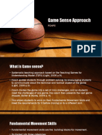 pdhpe game sense approach