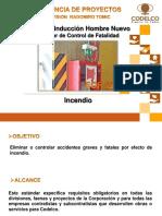 Charla de Inducción Estándar Control Fatalidad Nº 12 GPRT- REV-1