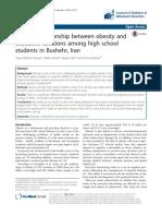 2015-Qavam Et. Al. ExecutiveFunctions&Obesity in HighschoolStudents