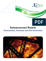 Intumescent Paint Brochure