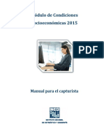 Manual de Captura MCS 2015