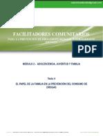 Modulo 2 - Texto 4 - Papel de La Familia en La Prevencion