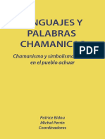 Lenguaje y Palabras Chamanicas