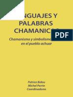 Lenguaje y Palabras Chamanicas