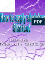 Sketchup Ur Space March 2013