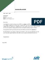 Internship Offer Letter Archit