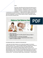 Higiene Del Sistema Nervioso Cuidados Del Sistema Nervioso