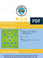 Tcafc v Rufc - 16s - Matchday Pack - Gd 5