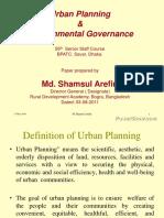 Urban Planning and Enviro 3840264