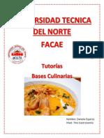 Bases Culinarias