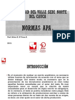 Normas APA Taller