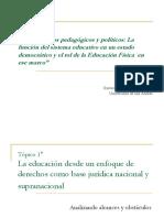 1. Presentación, La Educación desde un enfoque de derechos como base jurídica nacional y supranacional(1).pdf