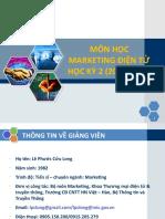 Syllabus - Mon Hoc Marketing Dien Tu